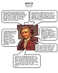 common sense by thomas paine analysis worksheet common core thomas paine common sense and. Black Bedroom Furniture Sets. Home Design Ideas