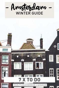 Ook in de winter is er genoeg te doen in Amsterdam, daarom hebben we een lijstje gemaakt met dingen die in de winter extra leuk zijn om te doen met je vrienden of je lover. Veel plezier deze doe-tips voor de winter in Amsterdam! Amsterdam Winter, Amsterdam Travel Guide, The Good Place, Om, Restaurant, Mansions, Future, House Styles, Tips