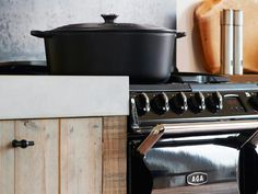 Keuken van steigerhout met AGA fornuis via RestyleXL