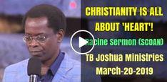 297 Best T B Joshua Sermons images in 2019