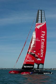Omega sponsor of Emirates Team New Zealand challenger for the 34th America's Cup