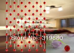 10 metros DIY cortina de cristal bola de cristal para a decoração Home 32 Seção talão de cristal Por Atacado
