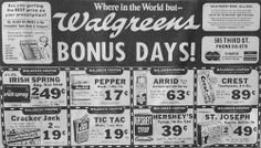 Dec. 27, 1975 - Walgreens advertisement in the Wausau Daily Record-Herald.