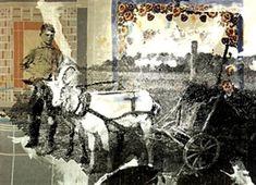 Sigmar Polke Der Ziegenwagen. (The goat wagon) 1992.