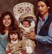 PHOTO: Tina Manning (left) John Trudell and their children Tina Manning-Trudell was a Paiute-Shoshone water rights activist and wife of John Trudell, Chairman of the American Indian Movement. Manni…