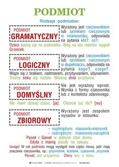 Aa School, School Notes, Teaching English, Learn English, Polish To English, Polish Language, Language And Literature, Language School, School Subjects