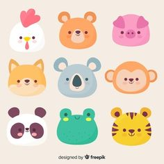 More than 3 millions free vectors, PSD, photos and free icons. Exclusive freebie… More than 3 millions free vectors, PSD, photos and free icons. Exclusive freebies and all graphic resources that you need for your projects Cute Animal Illustration, Cute Animal Drawings, Watercolor Illustration, Doodles Kawaii, Griffonnages Kawaii, Rainbow Cartoon, Its A Girl Balloons, Cute Easter Bunny, Doodle Patterns