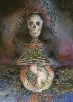 Skull Mother by Helena Nelson Reed