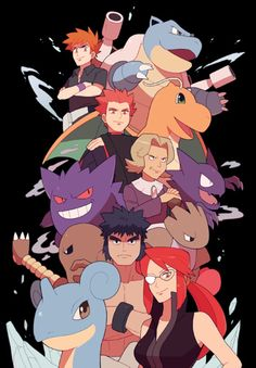 The Elite Four and Champion (1 out of 6)