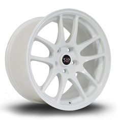 024fc9de17c 17 ROTA TORQUE WHITE 9.5J 5 stud 12 offset alloy wheels Hot Wheels