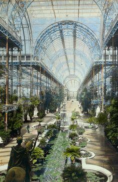 Joseph Paxton (1803 – 1865) | Crystal Palace | 1854 (destroyed 1936) | London, England
