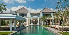 Villa Ombak Putih-Ombak Putih - elevated view of pool and garden