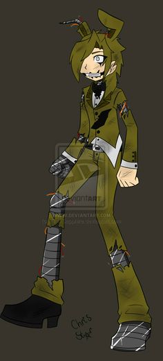 Five Nights At Freddy's 3 Golden Bonnie?? by Tina-Sapphire on DeviantArt