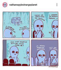 Abandoned comic Nathan W Pyle Deep Relationship Quotes, Secret Crush Quotes, Shutter Island, Inspirational Artwork, Mackinac Island, Cute Comics, Funny Comics, Silly Jokes, Funny Jokes