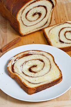 Cinnamon Swirl Bread *