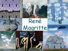 Leuke en informatieve powerpoint over Rene Magritte. Rene Magritte, Art Français, Fun Arts And Crafts, Handprint Art, Teaching Art, Graphic Design Illustration, Famous Artists, Art School, Art Education
