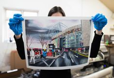 Printed and framed in our Manchester fine art production studio. Each print is produced on archival giclée paper, guaranteeing excellent quality. Production Studio, Manchester Art, Polaroid Film, Fine Art, Art Prints, Photo And Video, Printed, Paper, Frame