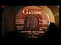 Dobby Dobson - Diamonds And Pearls - Rare Jamaican Doo Wop Ballad