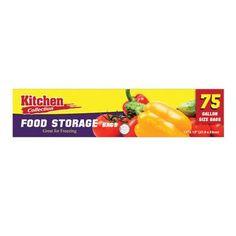 11 x 13 Inch Food Storage Bag/Case of 1800