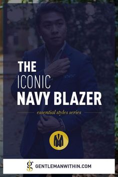 Want to know how to wear a navy blue blazer? Get tons of style inspiration and learn all about this men's outfit essential in this comprehensive guide. Navy Blazer Outfits, Navy Blazer Men, Casual Blazer, Casual Outfits, Modern Mens Fashion, Best Mens Fashion, Men's Fashion, How To Wear Blazers, Blazers For Men