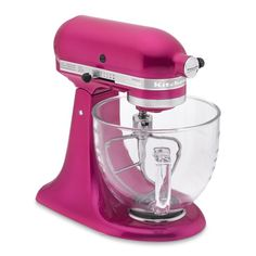 KitchenAid Artisan Susan G Komen Stand Mixer Raspberry Ice.  I so would love to get this for my birthday!