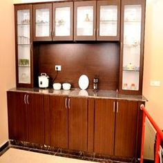Crockery Unit  China Cabinets Designs & Storage  Dining Awesome Dining Room Cupboard Design 2018