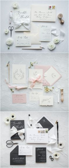 Vintage wedding invitations #weddings #wedidngideas #cards #4lovepolkadots #weddinginvitationsmodernelegant