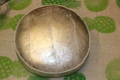 Cushion Silver Round Large, $340.00