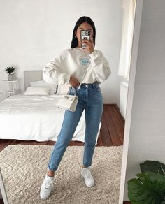 Trendy Fall Outfits, Basic Outfits, Casual Winter Outfits, Winter Fashion Outfits, Simple Outfits, Stylish Outfits, Gina Tricot, Looks Vintage, Everyday Outfits