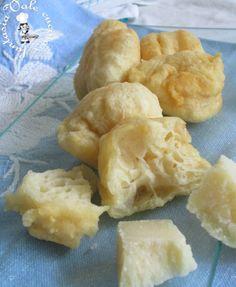 Frittelle lievitate con ricotta e grana