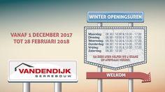 Winter openingsuren