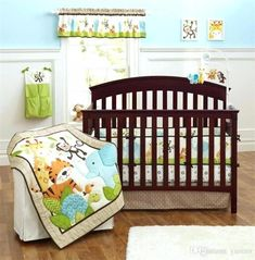 Baby Bedding Reasonable 7 Pieces Lovely Baby Cot Bedding Set 3d Africa Lion Crib Bedding Cot Sheets Cuna Baby Crib Bumper Sets Unisex Quality First Bedding Sets