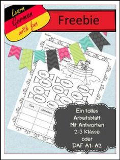 "FREE LESSON - ""Freebie: Los geht\'s 1 - Grundschul Arbeitsbuch ..."