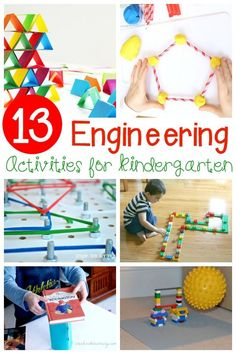Awesome Engineering Activities for Kids A must-try collection of hands-on, educational, and FUN engineering activities for kids! Such great STEM activities for Kindergarten! Science Activities For Kids, Steam Activities, Science For Kids, Science Books, Computer Science, Learning Activities, Steam For Preschool, Stem Preschool, Primary Activities