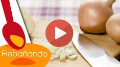 Técnica para cortar una cebolla como un chef