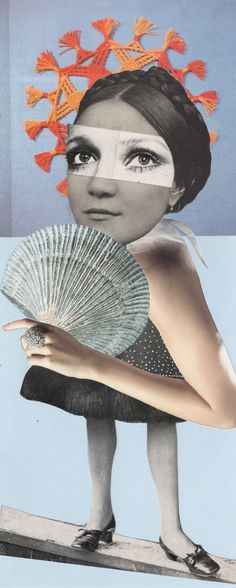Homage to Hannah - Collage 2013 – 35 x 14,3 cm - All copyrights by Sabine Remy - http://miriskum.de/