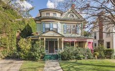 Gorgeous Queen Anne Victorian loaded with original charm and grace. From original stained and leaded glass windows to the original hardware on all the doors this lovely Painted Lady offers so much to that discriminate buyer looking for a true piece of history. Featured in the Epoc Times list of beautiful homes of Middletown!! You'll be sold at the foyer, but there will be endless amazement to follow. Original hardwood floors, pocket doors, a Harry Potter closet, banquet size dining room w…