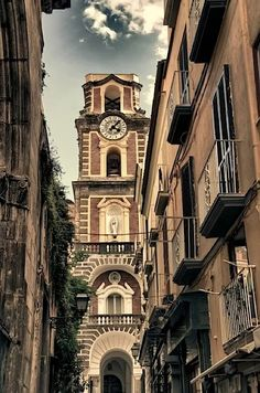 Cathedral Campanile - Sorrento, Italy