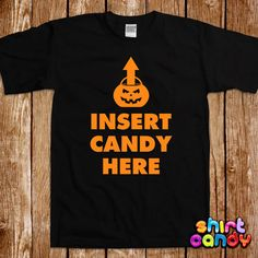 insert candy here halloween costume t shirt party funny bar dress up tee nerd geek womens scary girl trick or treat spooky witch gift - Scary Halloween Shirts