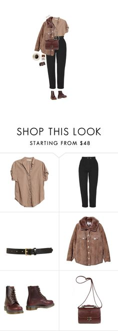 """you had me at goodbye"" by hetasdfghjkl ❤ liked on Polyvore featuring Xirena, Topshop, Tory Burch, Acne Studios and Dr. Martens"