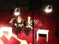 """""""La ballata dei precari"""" di Silvia Lombardo presentata all'Animal Social Club di Roma insieme all'attrice Guendalina Tambellini (31 gennaio 2013)."""