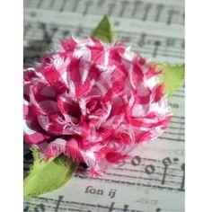 gingham flower