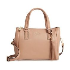 kingston drive by Kate Spade New York. This wear-with-anything leather satchel is styled in a scaled-down silhouette, perfect for day-to-night versatility. Style Name: Kate Spade New York Kingston Drive - Small Alena Leather Satchel. Style Number: 5417474. Available in stores. #katespadenewyork #bags