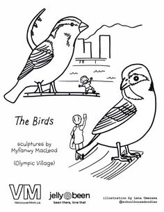 The Birds At Olympic Village