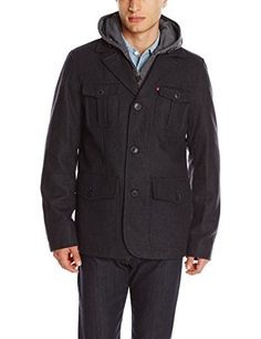 Levi's Men's Wool Peacoat with Fleece Bib and Hood, Charcoal, Small Levi's http://www.amazon.com/dp/B00JB8QFE2/ref=cm_sw_r_pi_dp_UVNnub1E5S1YM