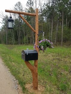 Mailbox post #MailboxLandscaping