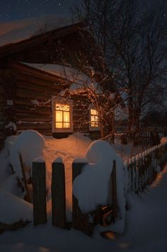 A Rustic Winter cabin Winter Szenen, Winter Cabin, Winter Love, Winter Christmas, Cozy Cabin, Winter Holidays, Snow Cabin, Cozy Cottage, Snow Scenes