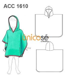 TOALLA PONCHO INFANTIL Sewing Clothes, Diy Clothes, Baby Patterns, Sewing Patterns, Car Seat Poncho, Kids Poncho, Peignoir, Carters Dresses, Girl Tips