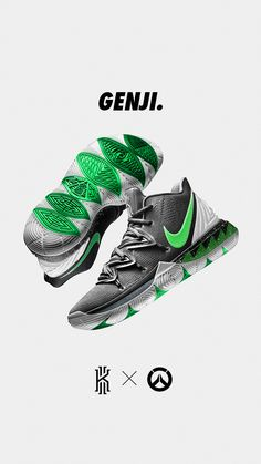 Nike Kyrie 5 X Overwatch Concepts on Behance - Sneakers Nike - Ideas of Sneakers Nike - Nike Kyrie 5 X Overwatch Concepts on Behance Zapatillas Nike Basketball, Tenis Nike Air, Nike Basketball Shoes, Sports Shoes, Basketball Drills, Overwatch, Kyrie 5, Nike Kyrie, Nike Basketball