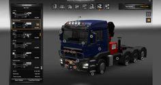 Euro Truck Simulator 2 Modifiyeli Tır - MAN TGS Euro 5